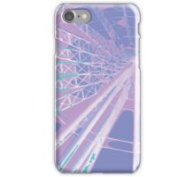 Purple Ferris wheel iPhone Case/Skin