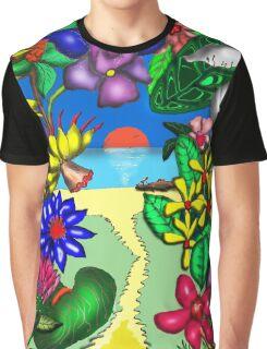 Floradise Apparel Graphic T-Shirt