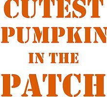 CUTEST PUMPKIN IN THE PATCH  by Divertions