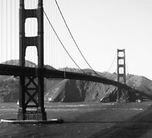 The Golden Gate Bridge by MegaPickle