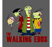 The walking Edds - Ed , Edd and Eddy - The walking dead Photographic Print