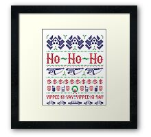 McClane Christmas Sweater Framed Print