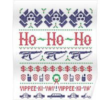 McClane Christmas Sweater Poster
