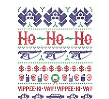 McClane Christmas Sweater Photographic Print