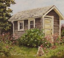 Shed Watch by Karen Ilari