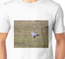 Secretary Bird on the Masai Mara Unisex T-Shirt
