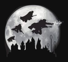 harry potter moon One Piece - Short Sleeve