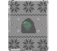 Hooded Kermit Christmas Sweater iPad Case/Skin