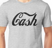 Cash - black Unisex T-Shirt