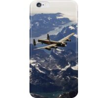 Lancaster over Greenland iPhone Case/Skin