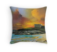 Isle of Barra hotel Throw Pillow
