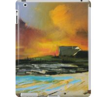 Isle of Barra hotel iPad Case/Skin