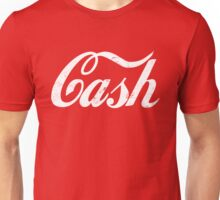 Cash - white Unisex T-Shirt
