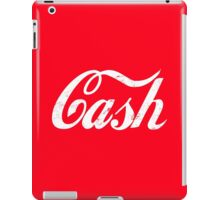 Cash - white iPad Case/Skin
