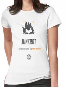 OVERWATCH JUNKRAT Womens Fitted T-Shirt