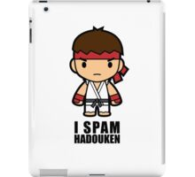 I Spam Hadouken iPad Case/Skin