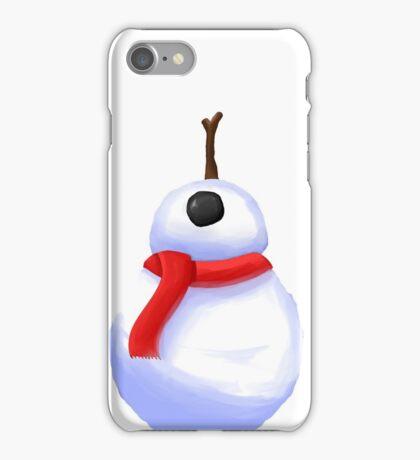 BB-8 Snowman!  iPhone Case/Skin