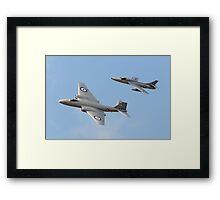 Mid Air Squadron Framed Print