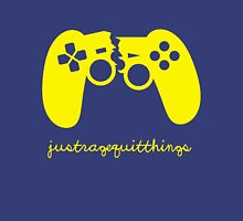 Just Rage Quit Things Womens Fitted T-Shirt