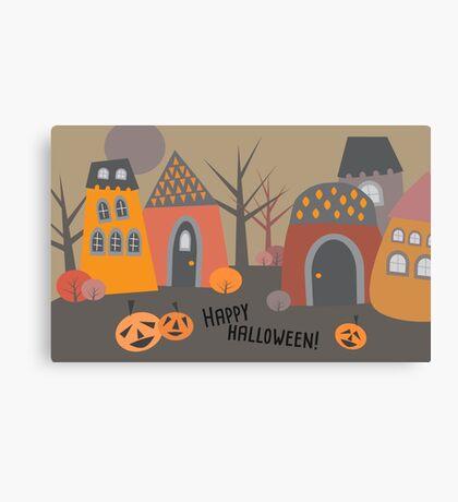 Cute Halloween Canvas Print