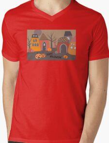 Cute Halloween Mens V-Neck T-Shirt