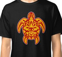 maori turtle tortue tattoo tribal Classic T-Shirt