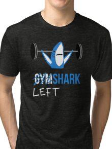 Gym Shark Left Shark Tri-blend T-Shirt