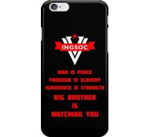 INGSOC Guidelines iPhone Case/Skin