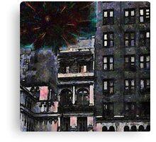 New York Explo Canvas Print