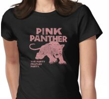 Pink Panther Party Womens Fitted T-Shirt