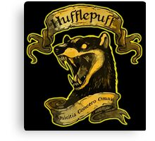 Hufflepuff Amicitia Canvas Print