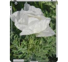 Prickly Poppy Waking Up iPad Case/Skin