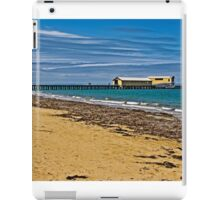 Historic Queenscliff Pier iPad Case/Skin