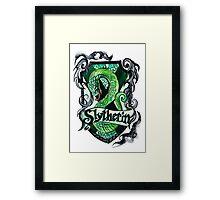 Slytherin Framed Print