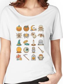 Halloween Icons Women's Relaxed Fit T-Shirt