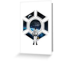 Star Citizen Greeting Card