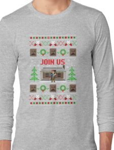 Evil Dead Ugly Sweater Long Sleeve T-Shirt