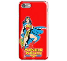 Wonder Woman Comics Ver.  iPhone Case/Skin