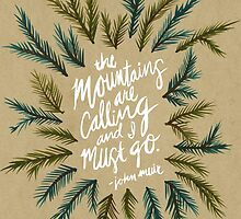 Mountains Calling – Kraft by Cat Coquillette