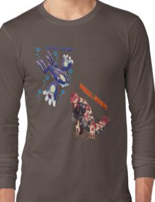 Primal Groudon & Primal Kyogre Long Sleeve T-Shirt