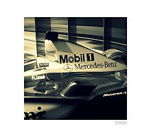 Race Car in Budapest, Hungary Photographic Print