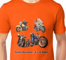 Harley-Davidson & L.A. Riders Unisex T-Shirt