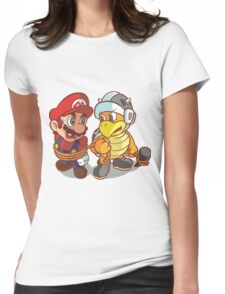 mario 2 Womens Fitted T-Shirt