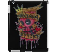 Deadpool Cartoon iPad Case/Skin