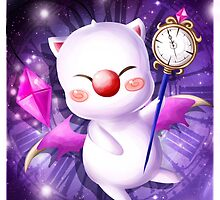 Time Traveling Moogle by lythweird