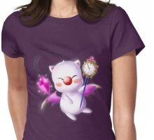 Time Traveling Moogle Womens Fitted T-Shirt