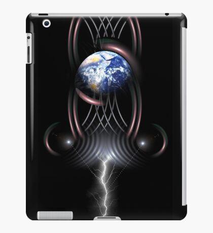 earth frequency 1 iPad Case/Skin
