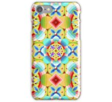 Groovy Cosmic Celtic (smaller scale) iPhone Case/Skin