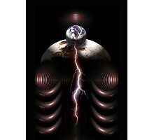 earth frequency 3 Photographic Print