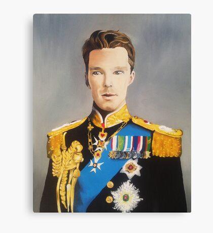 sir cumberbatch Canvas Print
